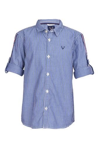 ALLEN SOLLY -  NavyTopwear - Main