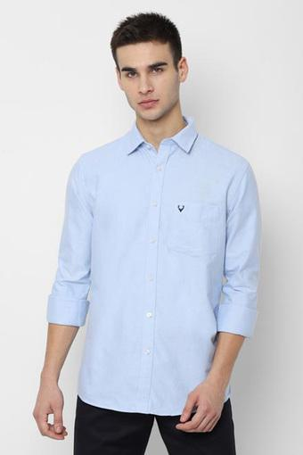 ALLEN SOLLY -  Light BlueCasual Shirts - Main