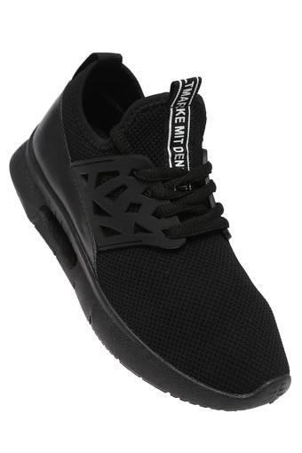 Girls Mesh Laceup Sneakers