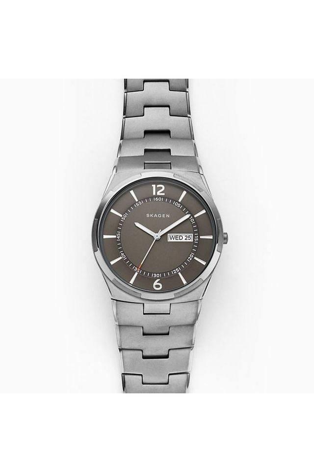 Mens Melbye Grey Dial Stainless Steel Analogue Watch - SKW6504