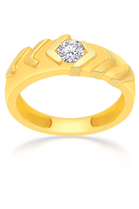 MALABAR GOLD AND DIAMONDS Mens Mine Diamond Ring - Size 10