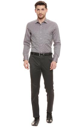 RAYMOND - Dark GreyFormal Trousers - 3