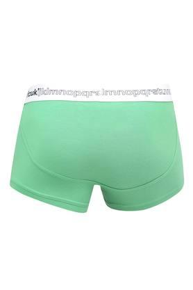 Mens Low Rise Solid Trunks