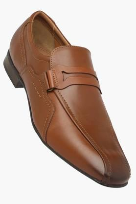RUOSH Mens Leather Slip On Formal Loafers  ...