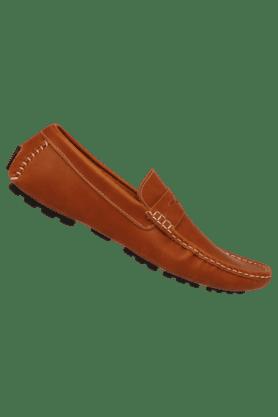 Mens Casual Leather Slipon Shoe