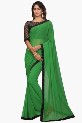 DEMARCAWomen Georgette Designer Saree - 202006882