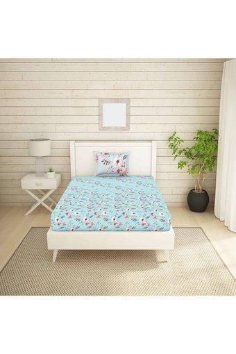 SPACES -  BlueSingle Bed Sheets - Main