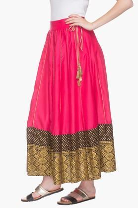 Womens Printed Long Skirt   Skirts   Westernwear   Women ...
