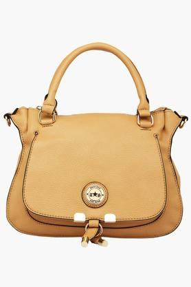 RS BY ROCKY STAR Womens Pointed Zipper Closure Satchel