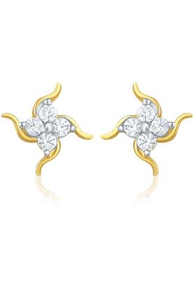 MAHIMahi Gold Plated Earrings With CZ For Women ER1103753G