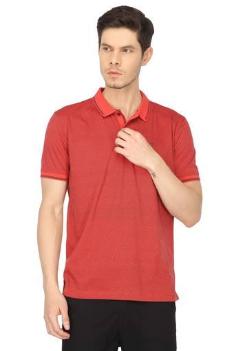 LOUIS PHILIPPE SPORTS -  Red T-shirts - Main
