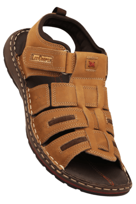 LEE COOPER Mens Velcro Closure Sandal - 200360652