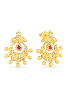 bdfe6cc74 MALABAR GOLD AND DIAMONDSWomens Era Uncut Diamond Earrings ...