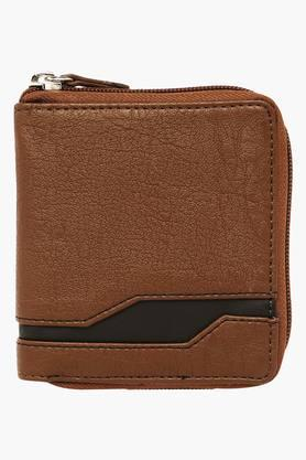 BAGGIT Mens Damon 1 Fold Zipper Closure Wallet