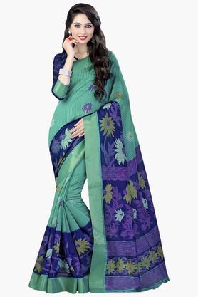 DEMARCAWomens Silk Designer Saree - 202338165