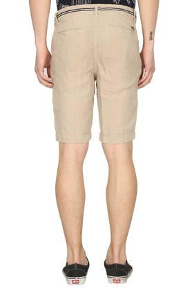 Mens 4 Pocket Slub Shorts