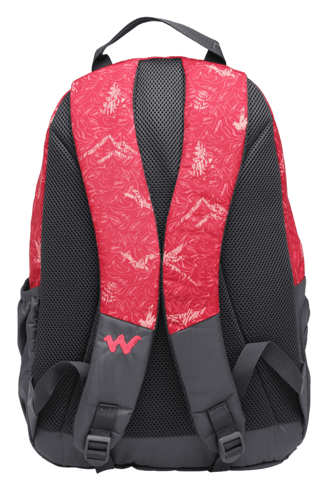 Unisex Casual Zipper Closure 3 Compartment Backpack