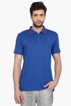 PUMA Mens Short Sleeves Solid Polo T-Shirt - 201583837