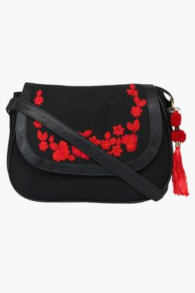 PICK POCKET Womens Snap Closure Sling Bag - 202332867