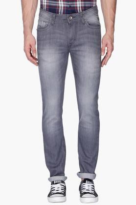 FLYING MACHINEMens Skinny Fit Mild Wash Jeans (Jackson Fit) - 201331523