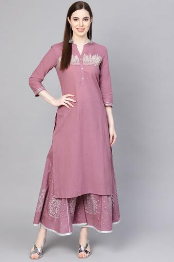 VARANGA -  Lavender Salwar & Churidar Suits - Main