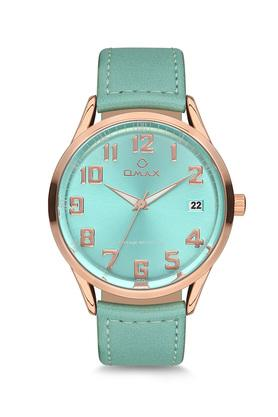 Unisex Vintage Green Dial PU Analogue Watch - FA9-VC09RB4A