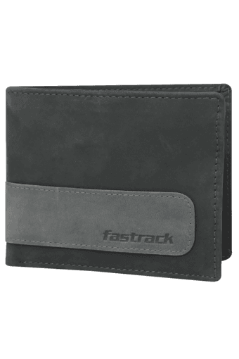 Mens Genuine Leather 2 Fold Wallet