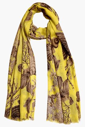 TASSELS Womens Printed Stole - 201152651
