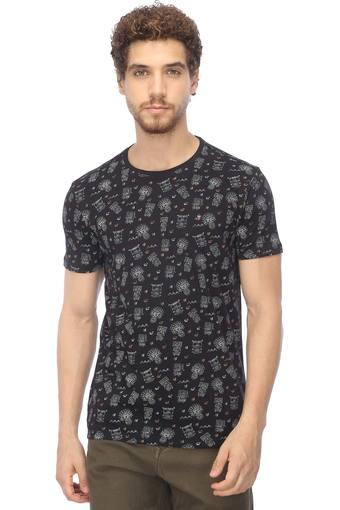 LOUIS PHILIPPE JEANS -  BlackT-shirts - Main