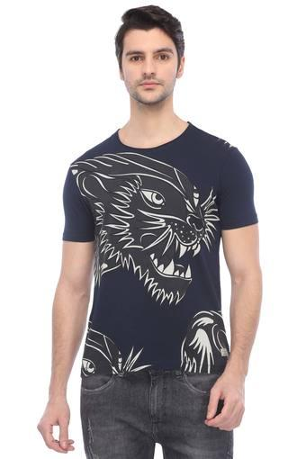 ED HARDY -  Navy T-shirts - Main