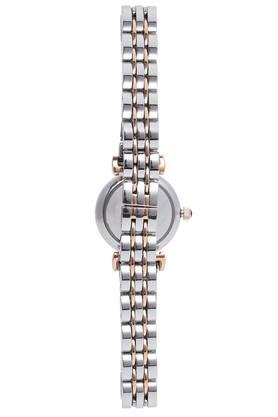 Womens Black Dial Analogue Watch