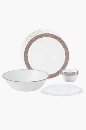 CORELLE Sand Sketch 10 Pcs Dinner Set