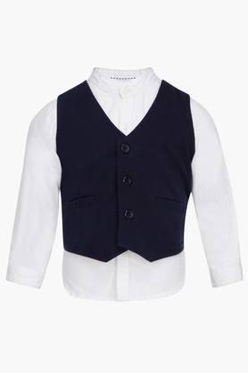Boys Waistcoat Shirt