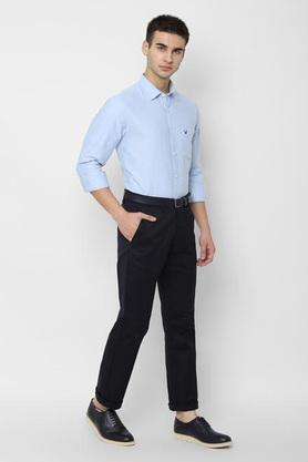 ALLEN SOLLY - Light BlueCasual Shirts - 3