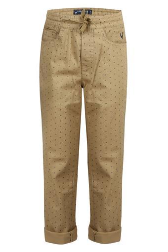 Boys 5 Pocket Printed Pants