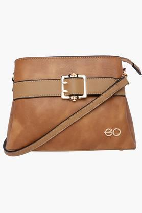 E2O Womens Zipper Closure Sling Bag - 202220757