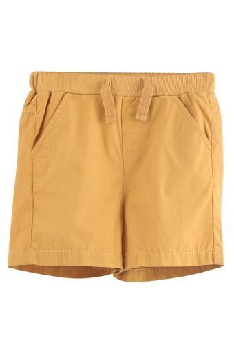 Boys 4 Pocket Solid Bermuda Shorts