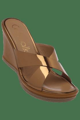 CATWALKWomens Ethnic Slipon Wedge Sandal