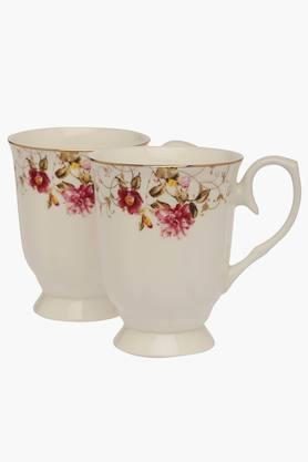 IVY Round Printed Mug Set Of 2 - 201346695
