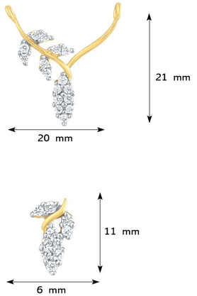 MAHIMahi Gold Plated Cubic Zirconia Studded Mangalsutra For Women PS1191581G