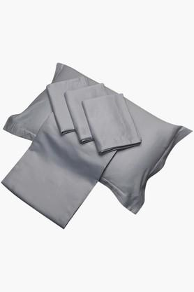 """FISHER WEST NYBlue Solid Pillow Covers (Pillow Cover 18"""" X 27"""" (2 Pcs)"""