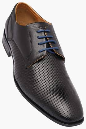ALBERTO TORRESI Mens Leather Lace Up Derbys - 202951427