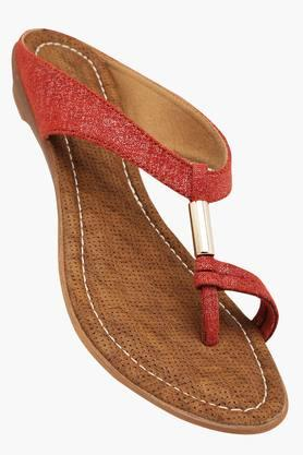 RAW HIDE Womens Daily Wear Slipon Flat Sandal - 201412863