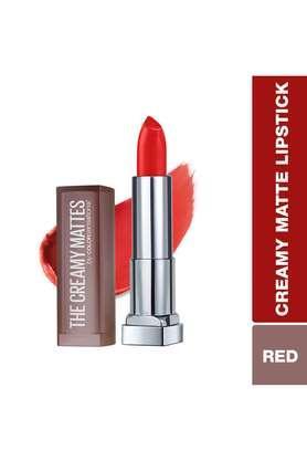Color Sensational Creamy Matte Lipstick - 639 Big Apple Red - 3.9 gm