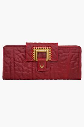 HIDESIGNWomens Amore 1 Fold Snap Closure Wallet