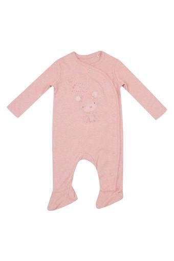 MOTHERCARE -  Pink Sleepsuits & Rompers - Main