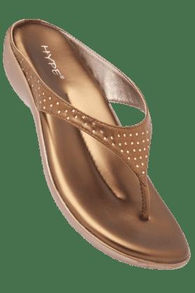 LEMON & PEPPERWomens Fancy Slipon Wedge Sandal
