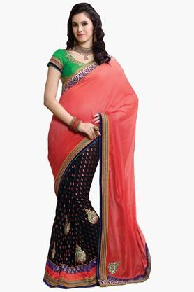ASHIKA Women Viscose Georgette Saree