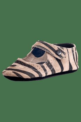 Girls Casual Snap Closure Ballerina Shoe