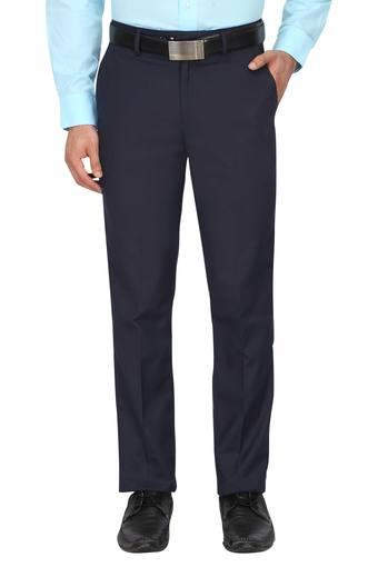 PETER ENGLAND -  Navy Formal Trousers - Main